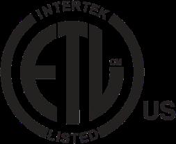 ETL Intertek Listed Logo